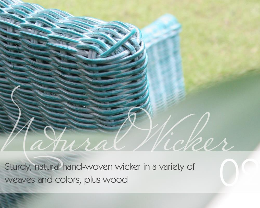 Natural Wicker Collection